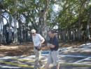 Bill, Jay and Banyan tree at Edison Home.JPG