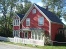 Shelburne colorful home