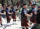 Pipe and drum firefighters from Yonkers