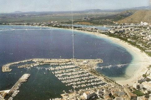 Alcudia Marina, Malloca, where Mr Bean stayed on the hard stand of winter 1998/1999