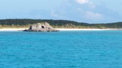 Oven Rock: Anchorage off Oven Rock, Gr Guana Cay