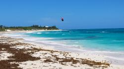 Elbow Cay: Breezy Atlantic - Kite Surfer