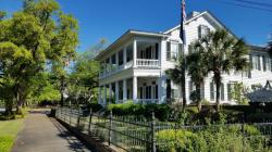Georgetown Mansion: walking Georgetown SC