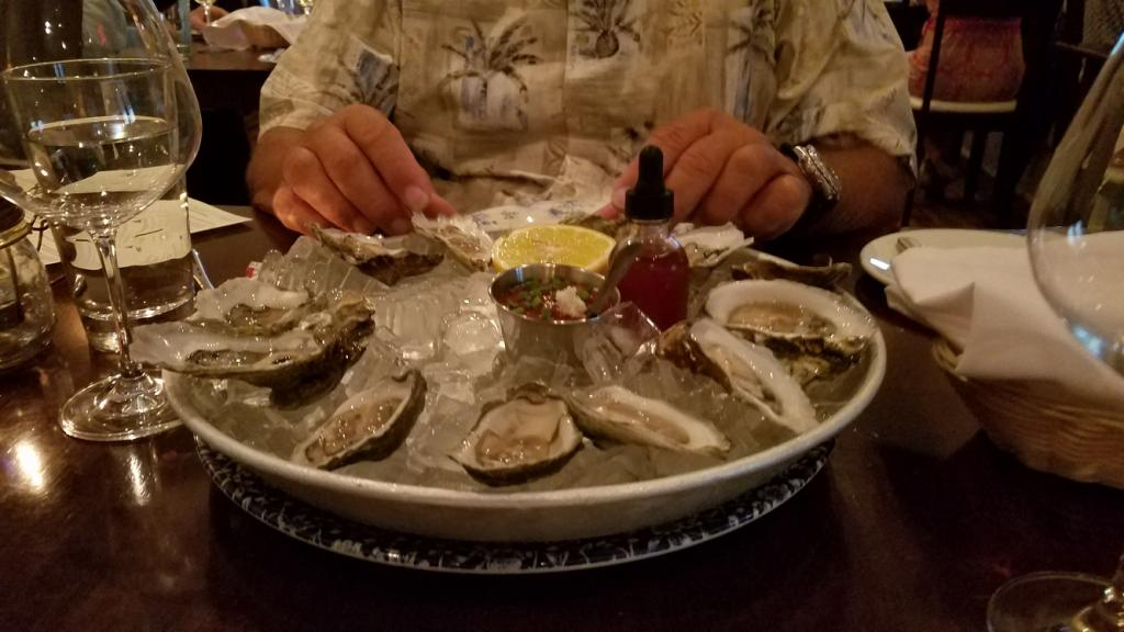 Restaurant St. Augustine: Oysters!